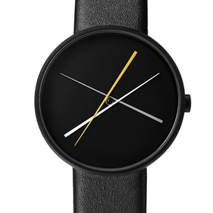 Projects Watches Crossover Black Leather Kol Saati