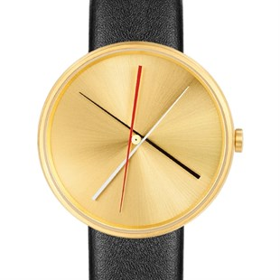 Projects Watches Crossover Brass Black Leather Kol Saati