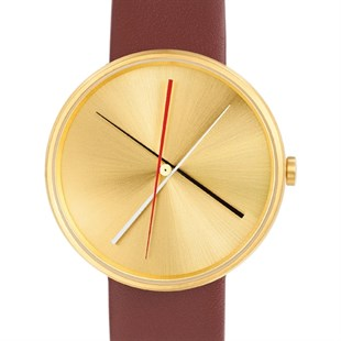 Projects Watches Crossover Brass Brown Leather Kol Saati
