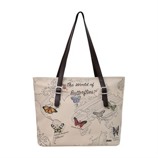 World Of Butterflies - Fit Bag Omuz Çantası